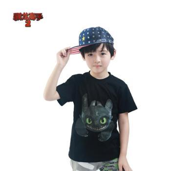 PuffyPuppy帕菲男女同款短袖T恤全棉夏装OAXZ01O21