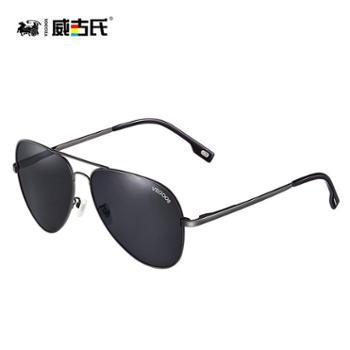 威古氏男款防紫外线偏光墨镜太阳眼镜3025M