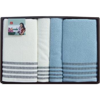 三利面巾普罗旺斯-5(面巾、浴巾各两条)