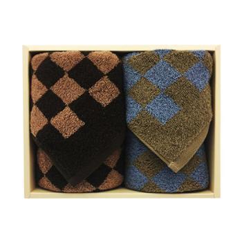 金号格拉斯哥系列双条毛巾礼盒装HY1168-3