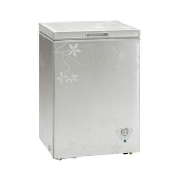 Midea/美的BD/BC-97KMJ(梅枝暗花)97L家用迷你单门立式冰柜