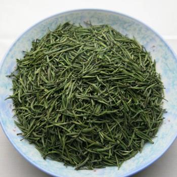 英山云雾茶高山雀舌50克,100%含芽率,一个独芽头,口感好品相好