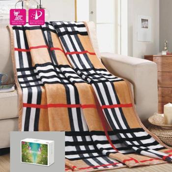 尚桑子苏格兰风情毯,两色可选