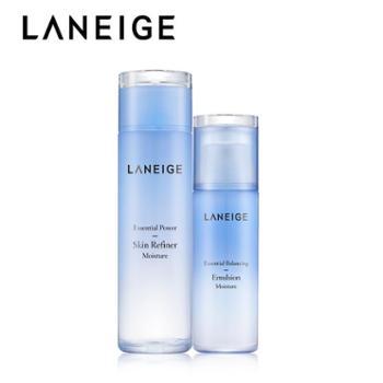 Laneige/兰芝水衡透润保湿乳液120ml+水衡透润精华水200ml