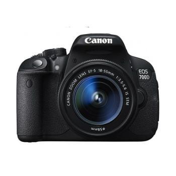 佳能EOS700D/18-55STM套机单反数码相机触摸屏700D