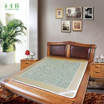 玉生缘正品 玉石床垫床垫双温双控数字显示远红外加热床垫新款特价