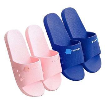 品彩室内家用软底拖鞋浴室洗澡防滑情侣外穿凉拖鞋女夏季男单双