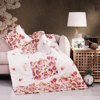 可欣家纺憧憬行囊抱枕被靠垫抱枕两用35×35cm靠垫100×150cm被子