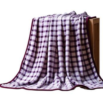 可欣家纺 舒棉绒搭搭毯家用办公室空调毯午睡单人双人盖腿搭毯