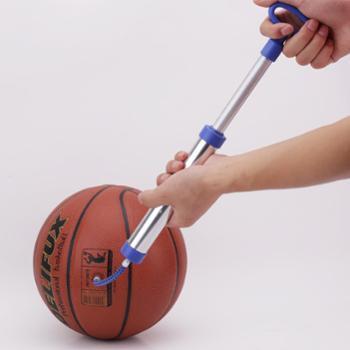 得力安格奈特打气筒便携式打气筒铝合金材质球类充气筒可充气篮球足球排球等