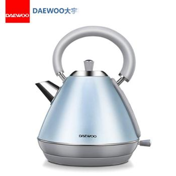 大宇DAEWOO 1.8L典雅电热水壶 304不锈钢内胆DYSH-S7