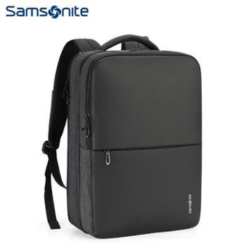 新秀丽(Samsonite)都市风商务休闲双肩背包电脑包