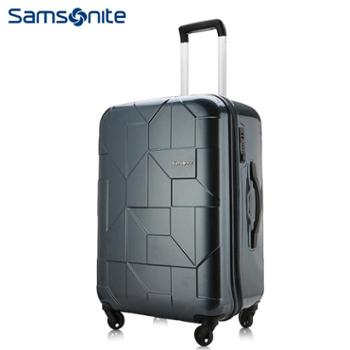 新秀丽(Samsonite)潮流都市风24寸PC拉杆箱炭灰色