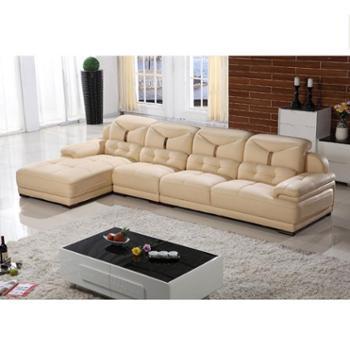 真皮沙发组合 休闲简约现代客厅高档头层厚牛皮艺家具厂家直销