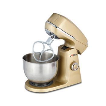 UKOEO HBD-801多功能电动和面机厨师机家用商用厨师机搅拌揉面机
