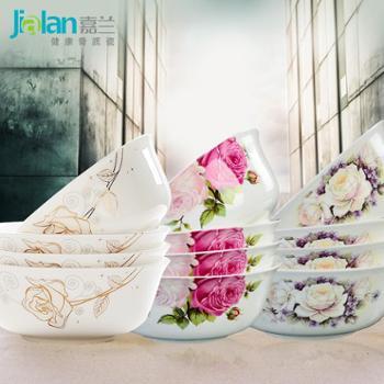 超值!创意骨瓷碗大碗汤碗面碗韩式陶瓷碗套装米饭碗包邮