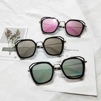 梵妮莎时尚个性太阳镜男复古原宿风墨镜女街拍太阳眼镜F2296