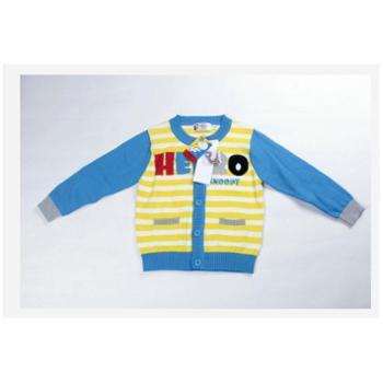 史努比新款春装宝宝针织休闲服装2as40902纯棉线衫外套潮牌童装