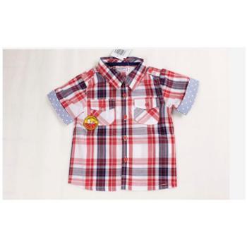 夏春装新款史努比正品2AS40304男童 平织长袖上衣
