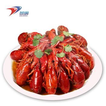 黄河口馆景明麻辣蟹麻辣小龙虾1.6kg4-6钱/33-45只海鲜水产