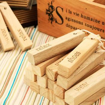欧润哲20条装家居衣柜除味香樟木条樟木块多功能除异味樟木片可挂代樟脑丸