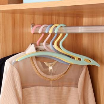 欧润哲流线型三角多用途晾衣架10只套装
