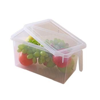艾多 带盖带把手冰箱收纳保鲜盒 单只装