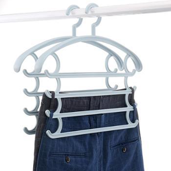 艾多 四层衣裤收纳衣架 2只装