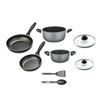 【进口包邮】意大利进口锅具套装不粘系列厨房八件套