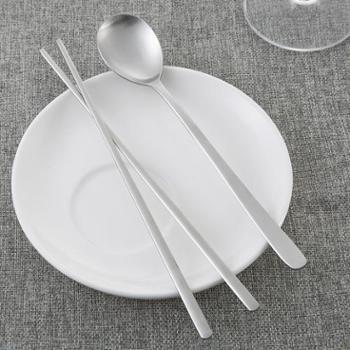 【进口包邮】韩国进口勺子和筷子套装(1筷子+1勺子)亚光