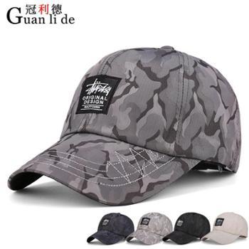 新款春季男士棒球帽夏天鸭舌帽休闲户外速干运动帽子遮阳防晒