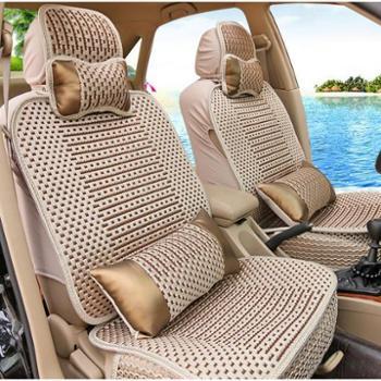 汽车坐垫四季通用五座座垫车垫小车座套四季垫