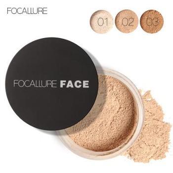 FOCALLURE控油透气定妆透明蜜粉24小时持久防汗不脱妆散粉FA15