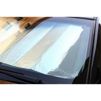 汽车遮阳帘140*70双面银汽车遮阳挡夏季车品防晒