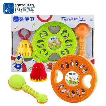 婴侍卫宝宝乐器三件套