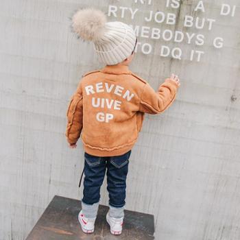 冬季男童韩版外套2018新款加厚防风上衣中大童宝宝帅气保暖开衫潮