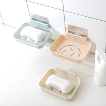 无痕肥皂盒魔力无痕贴吸壁式沥水香皂盒浴室卫生间置物架