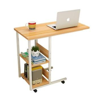 (日常生活家具家居生活用品)可移动床边收纳柜桌笔记本电脑懒人收纳桌书柜简约家用学生床上用卧室小柜桌