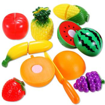 儿童早教益智过家家玩具切水果切乐9件套女孩宝宝切水果玩具套装2-3岁