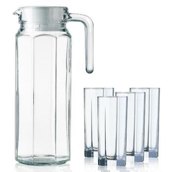 乐美雅八角水壶饮料用具5件套G6262