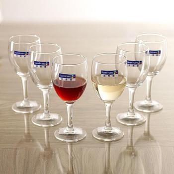 乐美雅优雅高脚杯红酒杯140ml(6只装)E5975