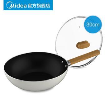 Midea/美的炒锅 MP-CJ30Wok306 铝合金 借用CJ30Wok301泡沫