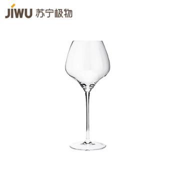 【苏宁极物】无铅水晶红酒杯 两只装