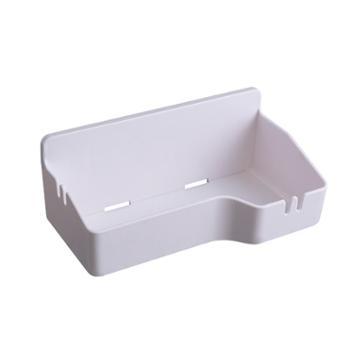 喜家家 浴室粘贴式壁挂收纳盒(免打孔安装)