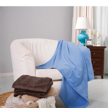 【520转账留言活动专享】 凯诗风尚 小毛毯珊瑚绒毯子 中奖客户专拍