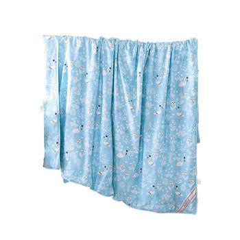 凯诗风尚全棉印花蚕丝被150*200cm
