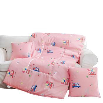 凯诗风尚抱枕被优舒绒多功能被