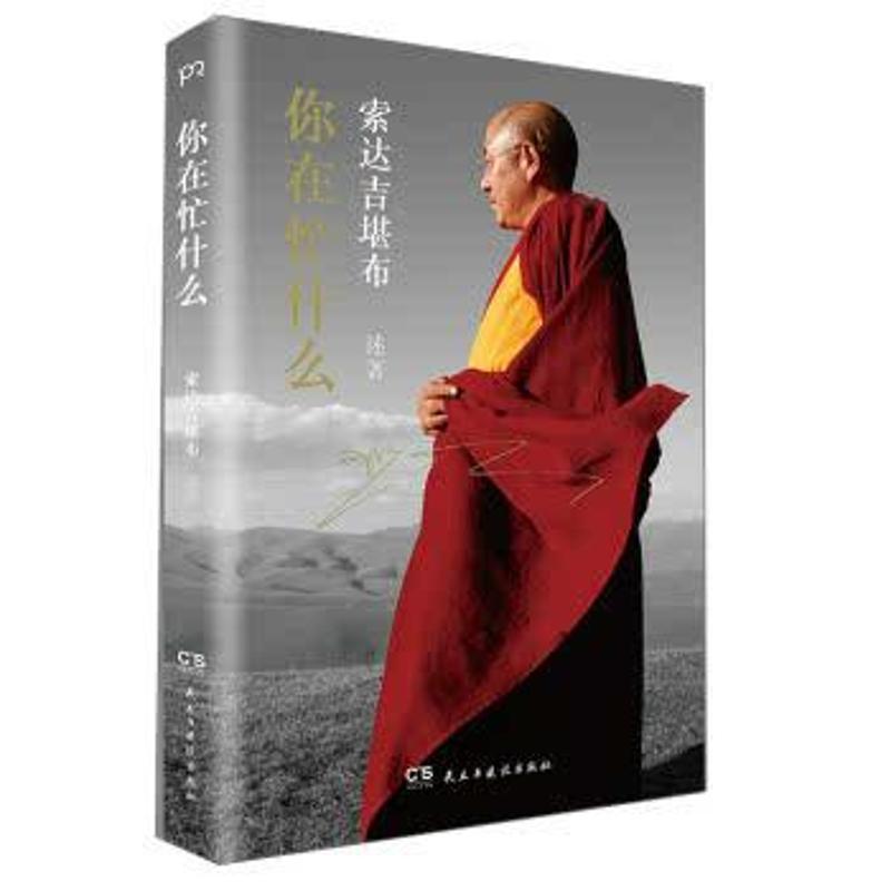热销你在忙什么 影响力遍及全球的佛教大德 畅