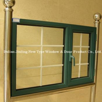 断桥铝窗推拉窗双层玻璃窗