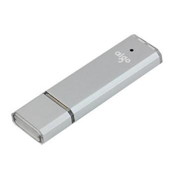 【128G优盘】爱国者U320高速商务U盘128G优盘USB3.0 带红色指示灯 银色